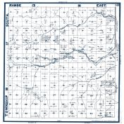 Sheet 010 - Townships 17 and 18 S., Ranges 13 and 14 E., Cantua, Salt Creek, Dry Creek, Fresno County 1923